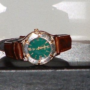 Women's Timex Brown & Green Casual Analog Watch